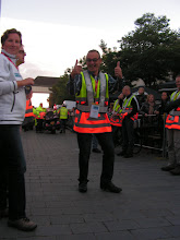 Photo: Martijn, ook van de fietsende brigade. Ook hij heeft er zin in.