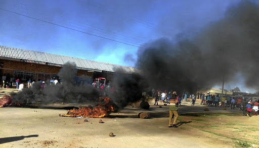 Businesses closed shop in Delareyville after residents took to the streets to revive their call for the removal of North West premier.