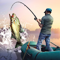 Fishing. River monsters icon