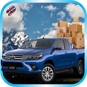 Power Steer Cargo Hilux: Offroad Jungle Transport