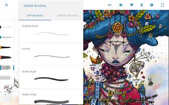 Adobe Photoshop Sketch - screenshot thumbnail 14