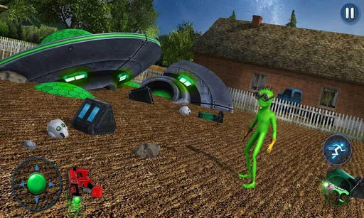 Grandpa Alien Escape Game apkpoly screenshots 5