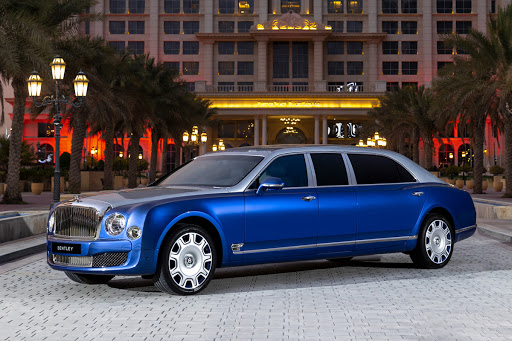 For Sale: Five Rare Bentley Mulsanne Grand Limousines, Never Used