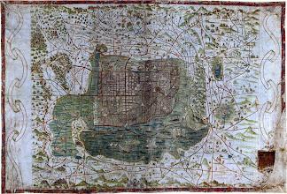 Photo: 1555 Mapa Upsala Ciudad de México Santa Cruz Alonso de