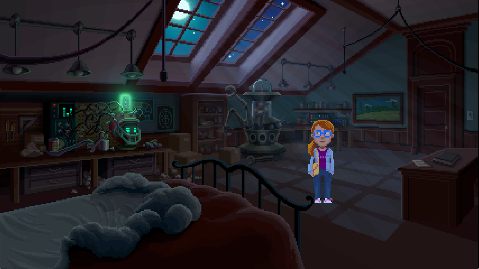 Thimbleweed Park- screenshot