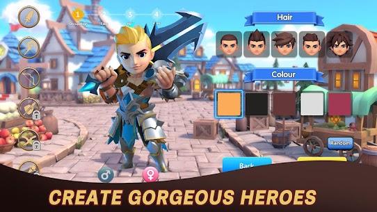 Hero of Taslinia Mod Apk 1.10.0 (DAMAGE + DEFENCE MULTIPLE) 1