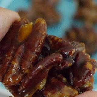 Low Carb Pecan Caramels.