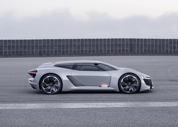 The Audi PB18 brings imaginations of a shooting brake R8. Picture: SUPPLIED