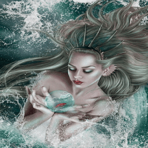 Magic Wave Girl LWP apk