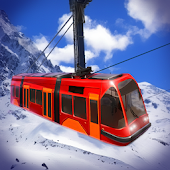 Sky Tram: Train simulator on ski resort