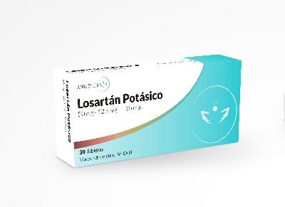 Losartan Potasico + Hidroclorotiazida HTC 50mg/12,5mg
