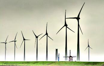 Photo: Windenergie in Friesland