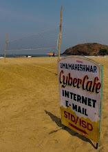 Photo: cyber beach?