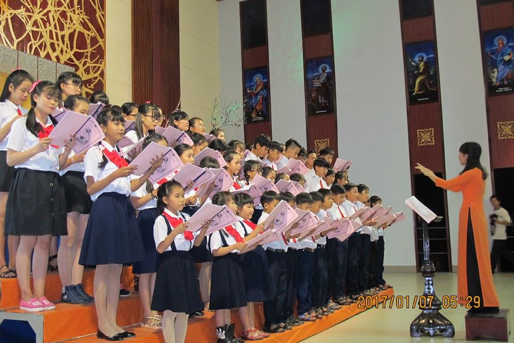 Đêm đại hội nhạc đoàn và ca đoàn thiếu nhi giáo phận Qui Nhơn - Ảnh minh hoạ 5