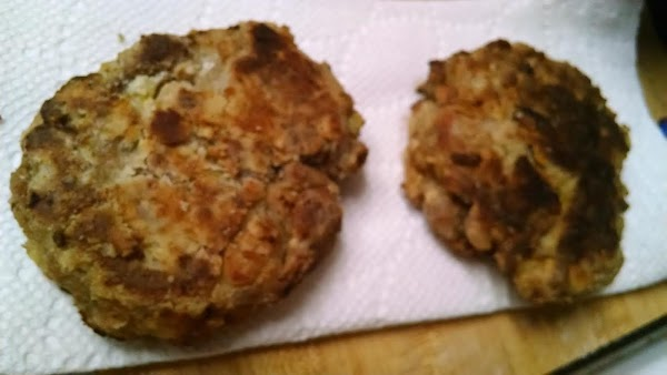 Fried Dressing Patties Recipe