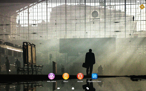 XPERIA™ SWPA Theme Screenshot