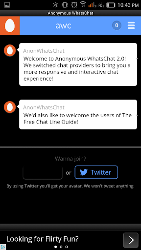 Anonymous WhatsChat