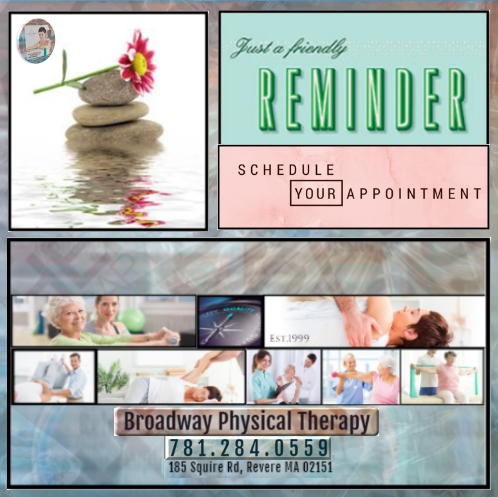 Dont Forget to Schedule Your Appointment