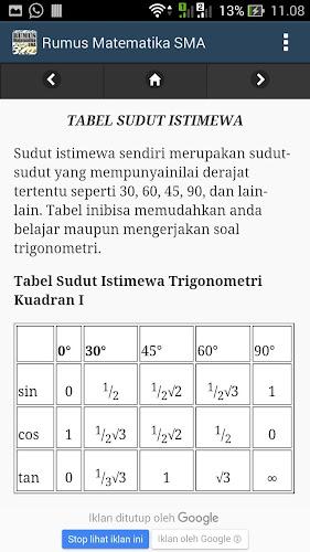 Download Rumus Matematika Sma Sederajat Apk Latest Version For Android