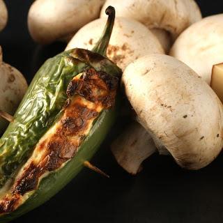 Smoky Mushroom Jalapeño Poppers