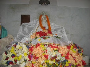 Photo: The main Bigraha of Baba Lokenath  worshiped day and night in the presence of the devotees/attendees (Photograph is never allowed but I was lucky to get permission for once)