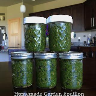 Homemade Garden Bouillon