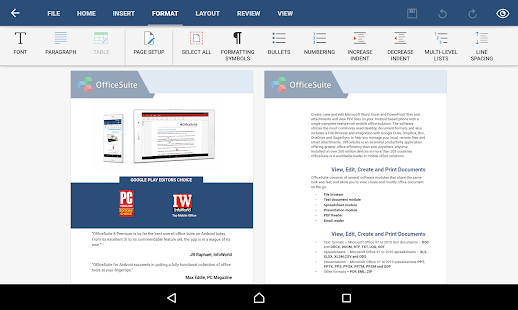 OfficeSuite 8 + PDF Editor- screenshot thumbnail