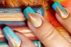 nail-art-soffiodidea-water-marble-oriente