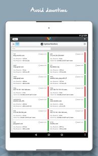 Monitis – Web & IT Monitoring- screenshot thumbnail