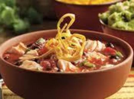 SAVORY CHICKEN TORTILLA SOUP Recipe