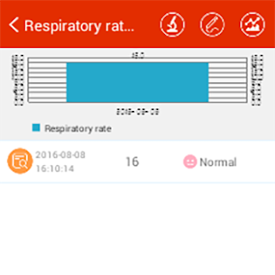 iCare Respiratory Rate Pro Screenshot