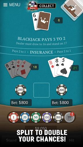 Blackjack 21 Jogatina: Casino Card Game For Free 1.5.1 Mod screenshots 4