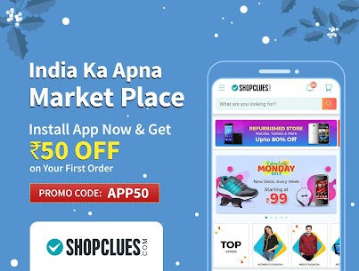 ShopClues: Online Shopping App Download For Android and iPhone 4