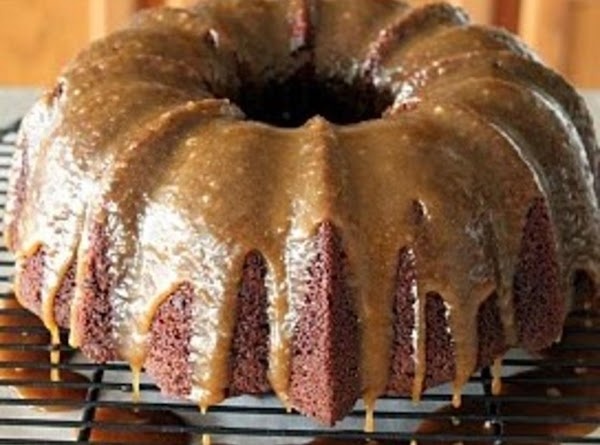 Mississippi Mud Cake With Bourbon Glaze Recipe