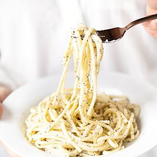 Everything Bagel Pasta.