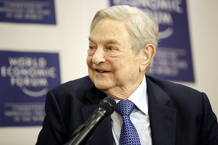 George Soros. Picture: BLOOMBERG