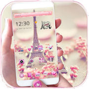 App Paris Tower Theme Pink Love APK for Windows Phone