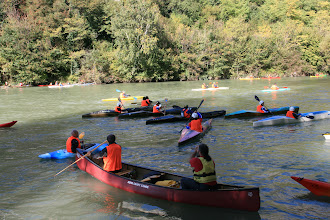 Photo: Ci facciamo largo nel traffico di Kayak foto Elena Bazzano