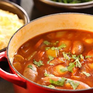 Sausage And Ale Casserole With Mash.