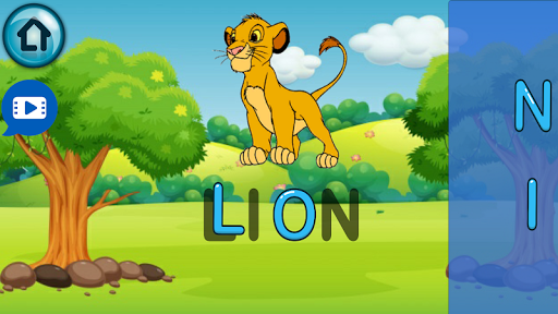 Learning English Puzzle Game for Kids screenshots 2