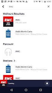 TuneIn Radio Capture d'écran