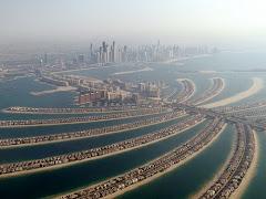 Visiter Palm Jumeirah/ vues aériennes