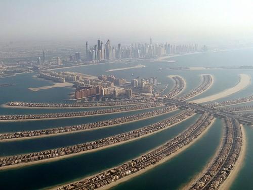Photo Palm Jumeirah/ vues aériennes