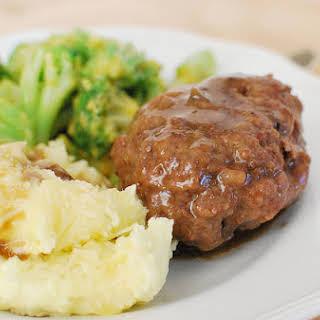 Slow Cooker Salisbury Steak.