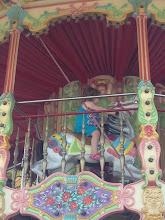 Photo: Tobie on Carousel last weekend of June 2013