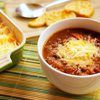 Slow Cooker Pumpkin Chili.