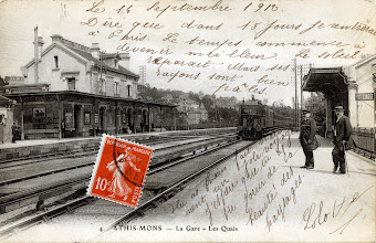 Photo: 4. ATHIS-MONS - La Gare - Les Quais