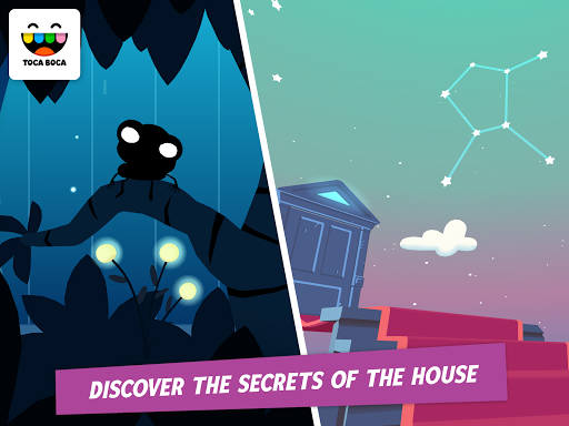 Toca Mystery House - screenshot