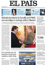 Photo: Rubalcaba inicia la batalla del PSOE con una ligera ventaja sobre Chacón y un atentado con 26 muertos arroja más sombras sobre Siria, en nuestra portada http://cort.as/1TUZ