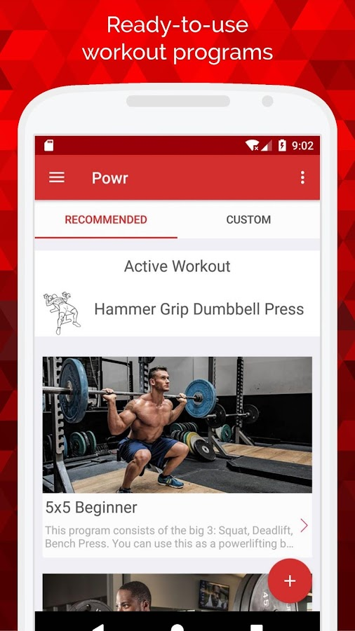 Powr - Weight Lifting Tracker & Bodybuilding Log- screenshot
